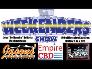 """The Weekenders Show 7-19-2019 """"Free El Chapo"""""""