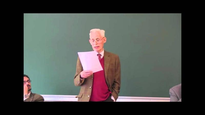 Jornada con Richard Swinburne Conferencia