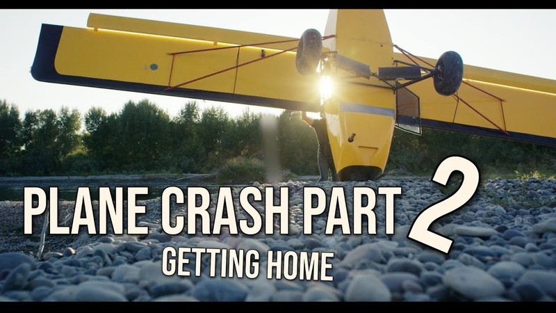 PLANE CRASH PART 2. Getting my Kitfox airplane back to the airport. skip to 2:43 to continue