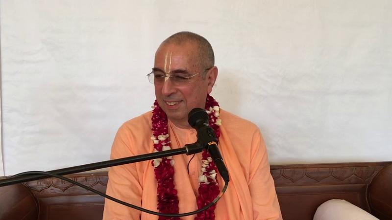 Niranjana Swami — Meeting with disciples at Bhakti-sangama — 16-Sep-2019