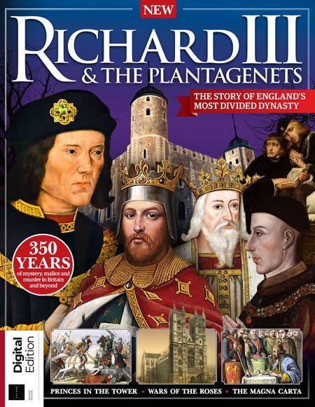 All About History Book of Richard III  and  the Plantagenets 2th 2019