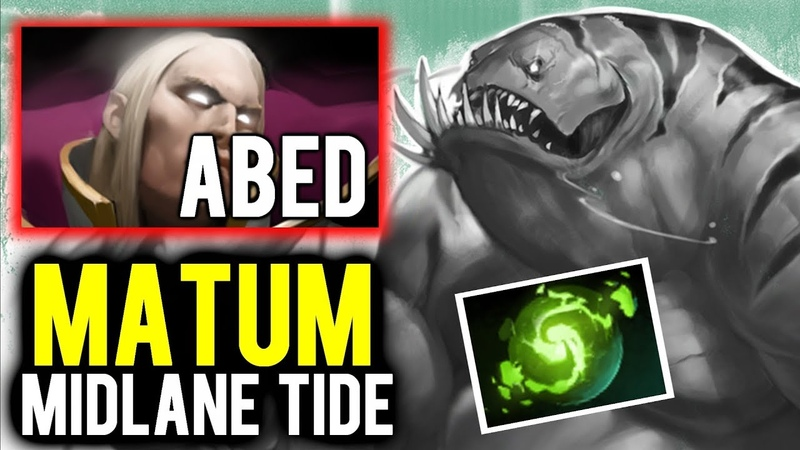 Matumbaman Midlane Tidehunter to Counter ABED Invoker? Intense Game