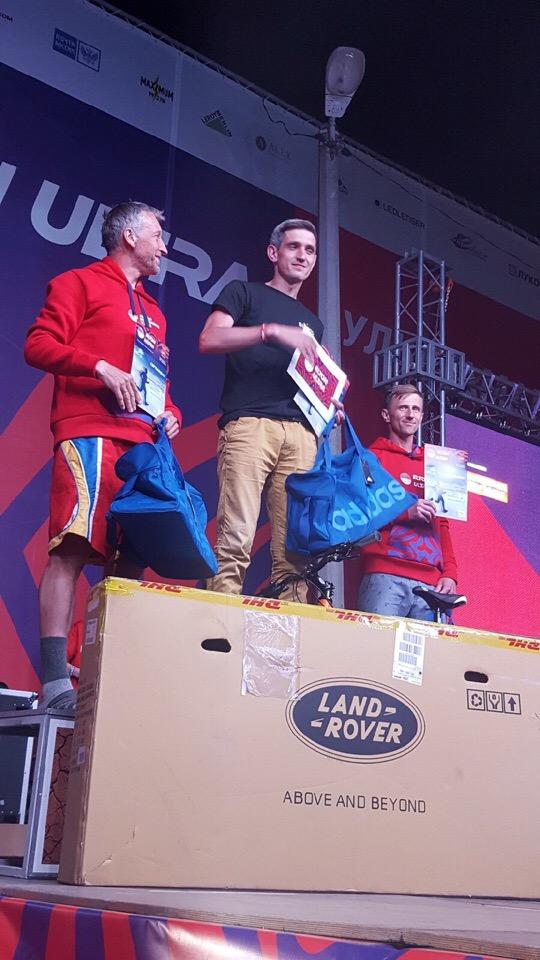 Награждение победителей  LOST LAKES ULTRA (Эльтон 2019 г.)  205 км.