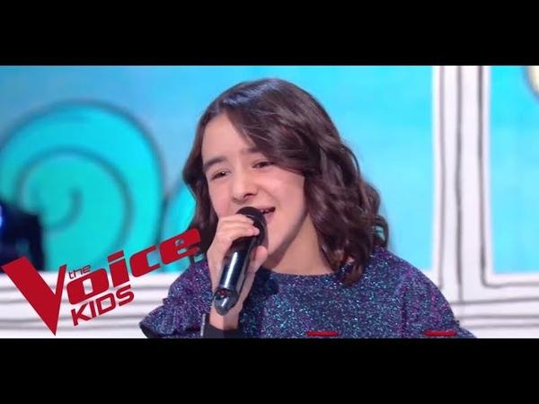 Christina Aguilera Beautiful Inès The Voice Kids France 2018 Finale