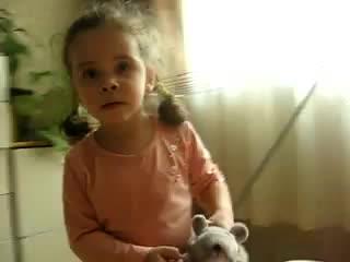 Уронили мишку на пол, оторвали мишке лапу... все равно его не брошу -  потому что он хороший! )))