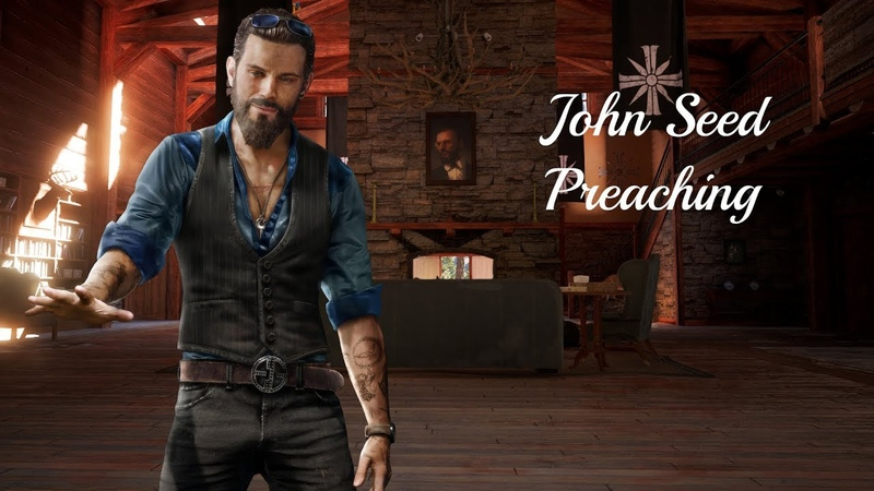 John Seed Preaching in the Outposts (Far Cry 5) w/subtitles