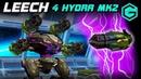 War Robots LEECH 4 HYDRA MK3 Champions League! ЛИЧ Гидрочер с фантазией!