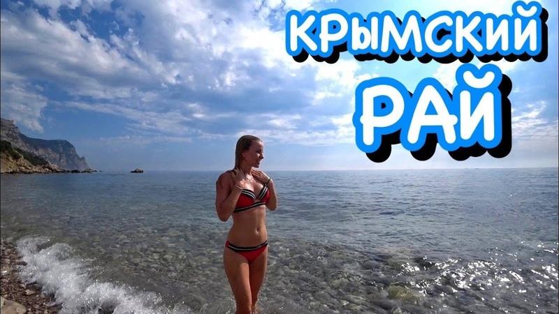 Балаклава ДЕЛЬФИНЫ Пляжи НУДИСТЫ преследуют снова Крым 2019