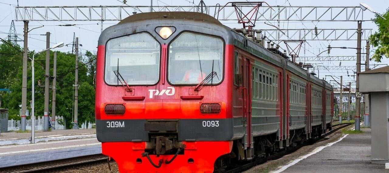 Вечерней электричке Таганрог - Ростов введены стоянки на платформах Бессергеновка, Вареновка и Приморка