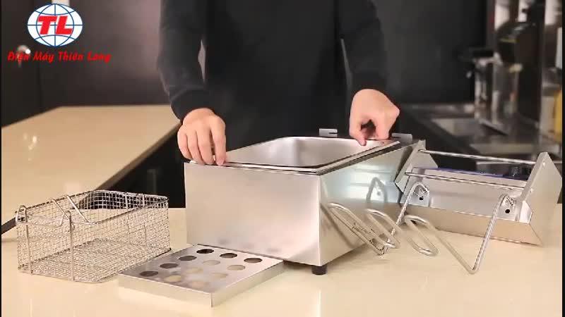 HDSD Bếp chiên điện 1 ngăn Bếp chiên điện 2 ngăn Bếp chiên đơn Bếp chiên đôi GIÁ CHỈ TỪ 85OK