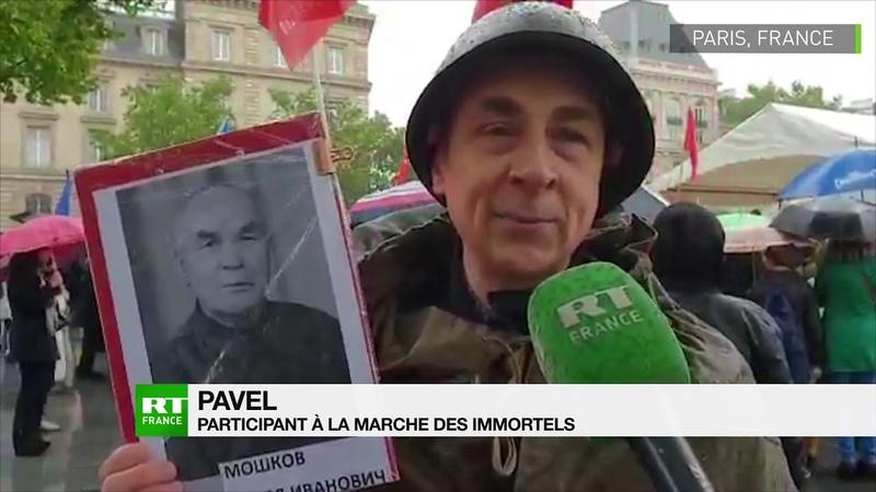 8 Mai à Paris la Marche des immortels célèbre la victoire contre le nazisme