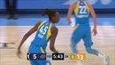 Astou Ndour 11 points vs. Los Angeles Sparks