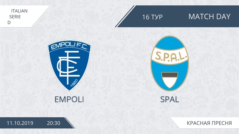 AFL19. Italy. Serie D. Day 16. Empoli - SPAL