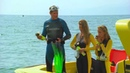 2 frogwomen with spare air and a surprise! female Baywatch Scuba scenes in HD 13