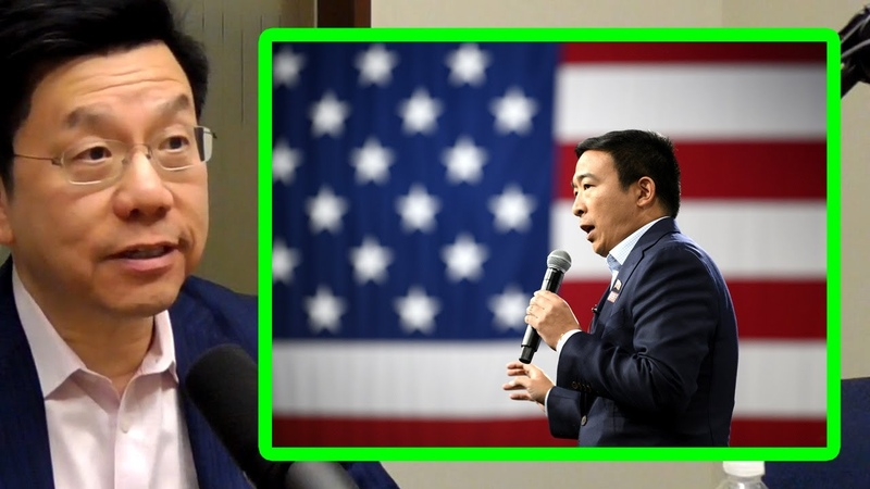 Andrew Yang is Ahead of His Time Kai Fu Lee AI Podcast Clips