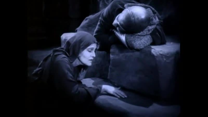 Бен Гур История Христа 1925 г Фрагмент Долина прокажённых