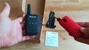 Retevis RT15 bemutató pici usb 5v töltés fix antenna cserélhető aku Kenwood headset