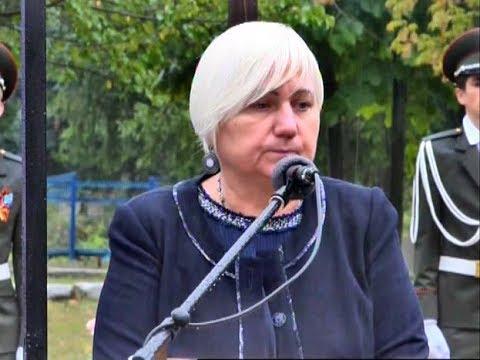 Депутаты НС ЛНР приняли участие в открытии памятного знака жителям села Веселая Гора 18 09 2019