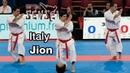 Italy male team - Kata Jion - 21st WKF World Karate Championships Paris Bercy 2012