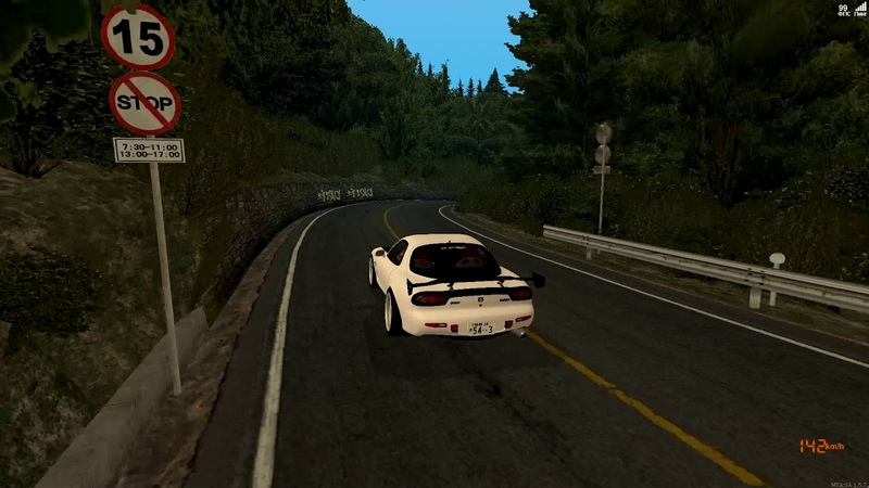 Akina Downhill in MTA:SA