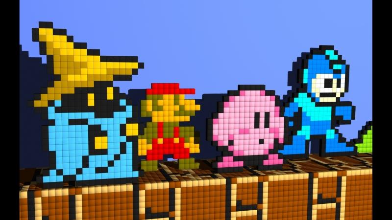 Mega Man (U) прохождение   Dendy, Nes, Famicom, 8 bit 1987, Capcom