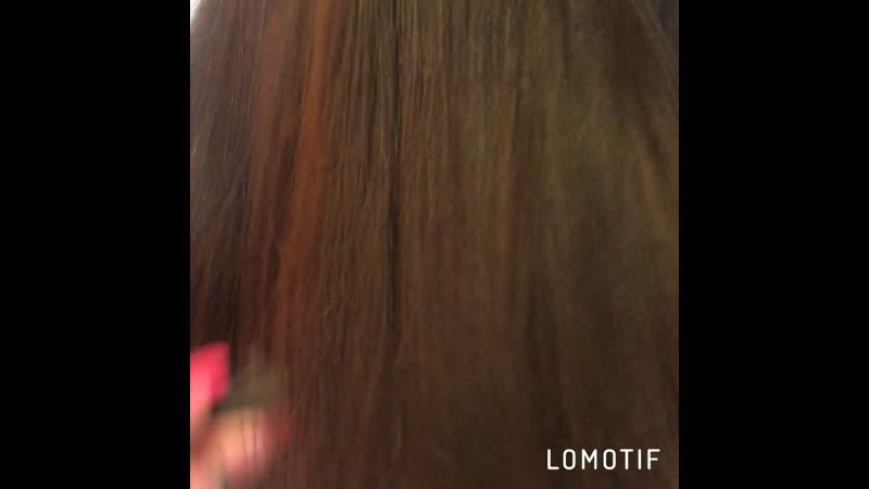 Реконструкция кончиков волос занятость 30 мин