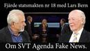 190919 Fjärde statsmakten nr 18 med Lars Bern om SVT Agenda Fake News.
