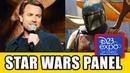 STAR WARS Disney Panel - Mandalorian, Rogue One Obi-Wan Kenobi Series