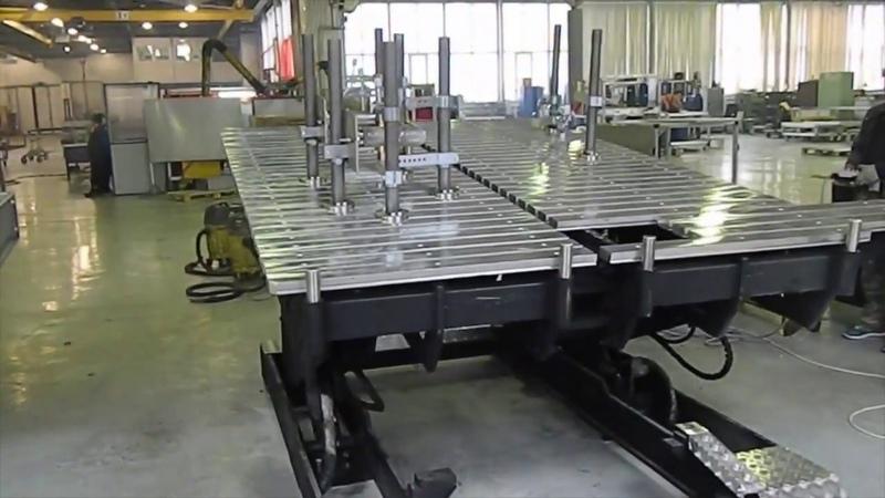 Сварочно-сборочные столы производство Россия
