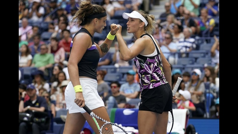 Barty/Azarenka vs Mertens/Sabalenka | US Open 2019 Womens Doubles Final Highlights