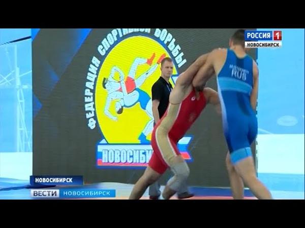 Международный турнир по греко-римской борьбе прошел в Новосибирске
