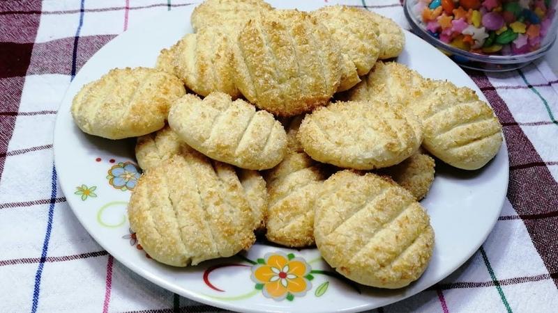 Çay yanına çok yakışan Hindistan cevizli tatlı kurabiye tarifi