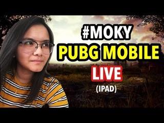 Let's Play Squads!! / PUBG MOBILE (iPad) Nepali Girl Live Stream / mokylama