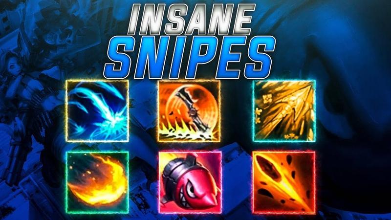 INSANE SNIPES 2019   League of Legends Montage