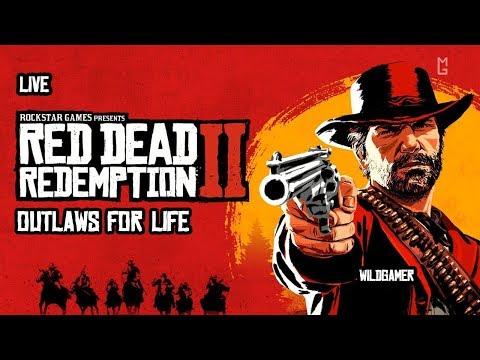 Maximumgames Стрим Red Dead Redemption 2 feat WildGamer
