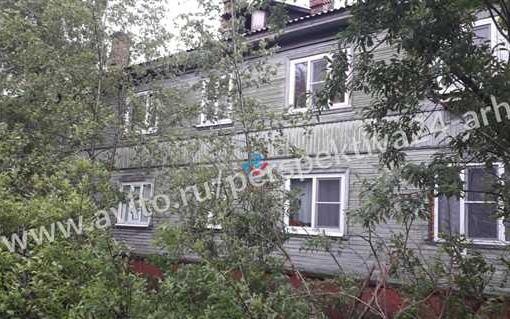 квартира в деревянном доме Архангельск ул Кедрова 16 112