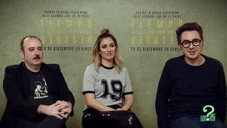 Tiempo Después, entrevista Carlos Areces, Blanca Suarez y Berto Romero