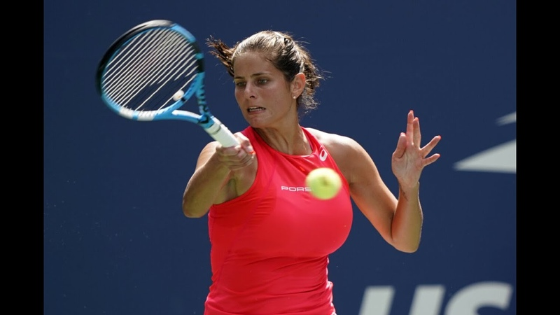 Julia Goerges vs Kiki Bertens US Open 2019 R3 Highlights