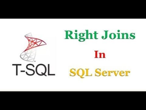SQL Server - How does Right Join work in T-SQL