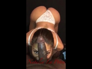 Natalia La Potra TS - shemale mouth and anal