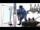 Эпичная подборка КРЖ: Несанкционированный запуск ракеты в Крыму. Омон и окно. Мостопад. Танк утонул.