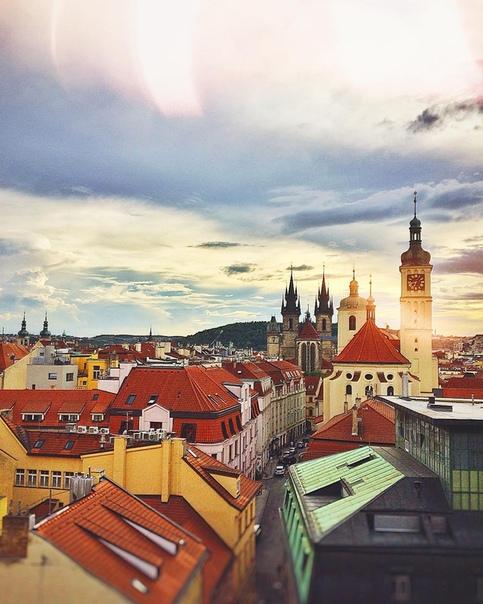 Петербург: ПРЯМЫЕ рейсы в Прагу за 12400 туда-обратно в сентябре