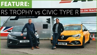 Renault Megane RS Trophy vs Honda Civic Type R - Best All Round Hot Hatch?