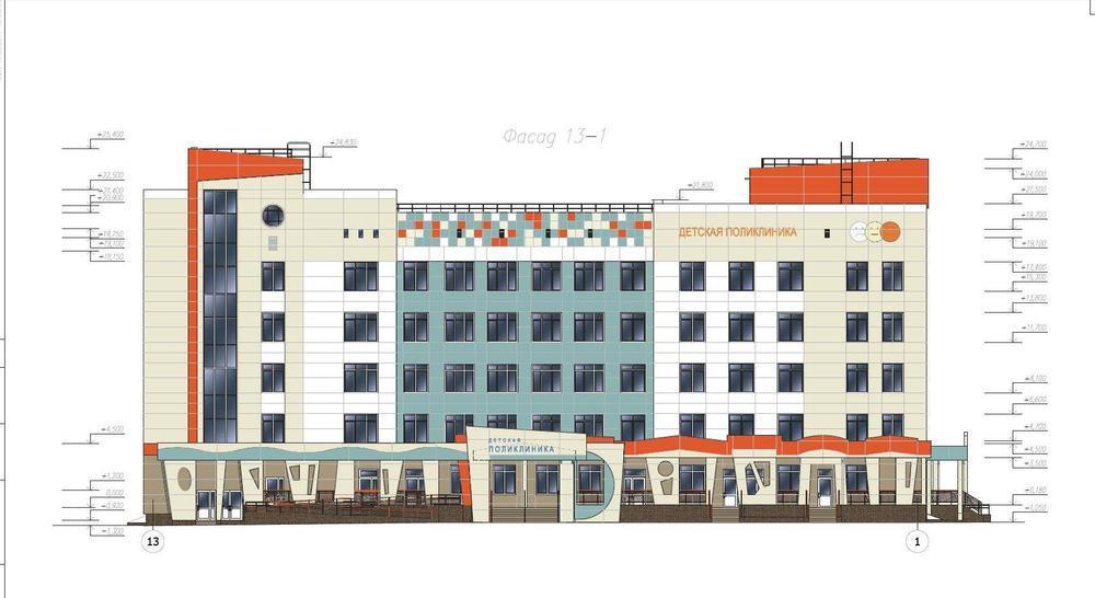 Новая детская поликлиника на Липовой горе в Ярославле будет на этаж ниже