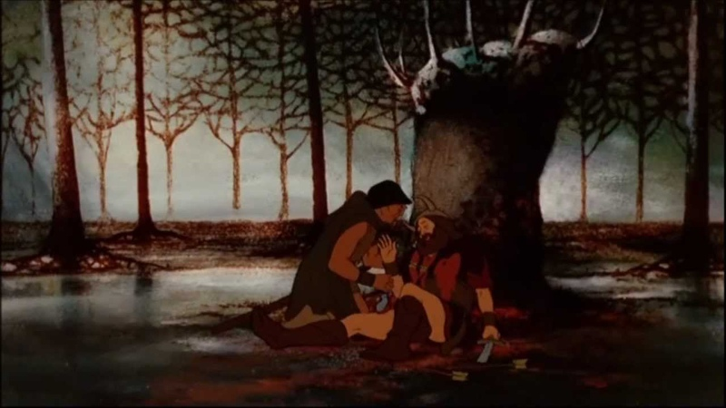 LOTR 1978 Boromir's death