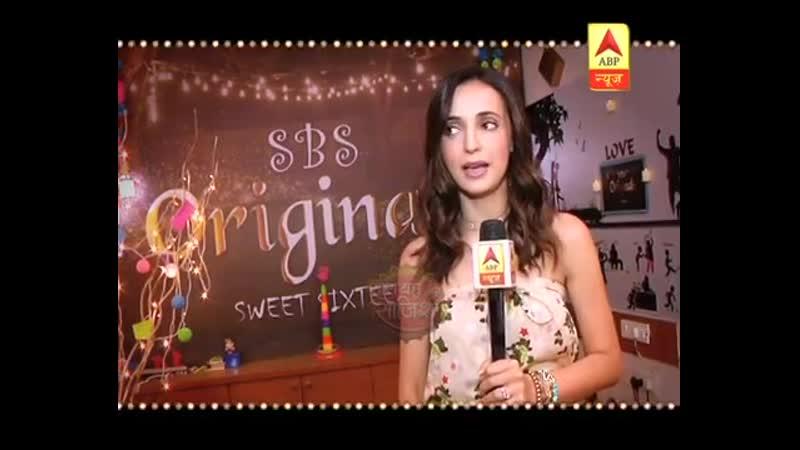Sanaya Irani celebrates SBS birthday in a scary style