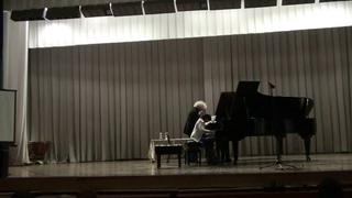 Master-classes by Mira Marchenko: Milena Kirichenko, Degtyarev' Music College, Belgorod