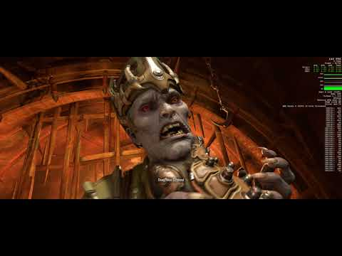 Doom Eternal, 3440x1440, RTX 2080 TI, R9 3950X (Ultra Nightmare Settings)