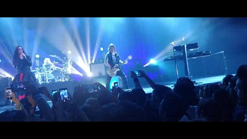 Evanescence Disappear VLOG from Istanbul concert