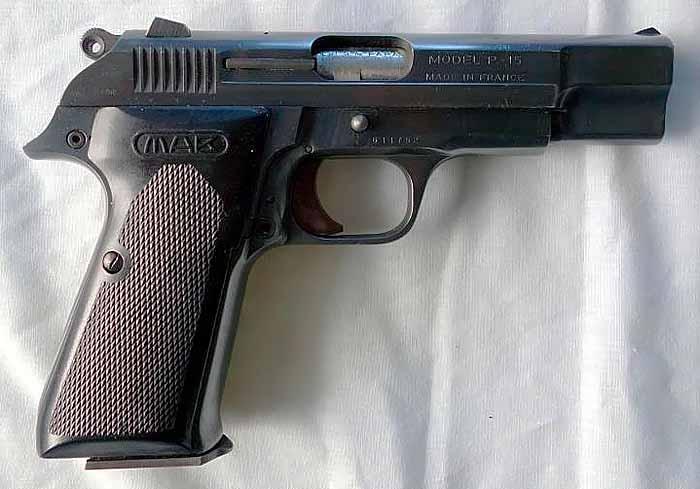 Пистолет MAB PA-15, Франция, изображение №2